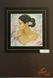 LANARTE LADY WITH BLOSSONS
