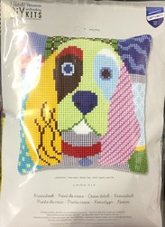 COUSSIN CHIEN CALICO