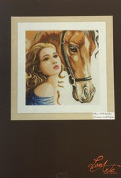 LANARTE WOMAN AND HORSES