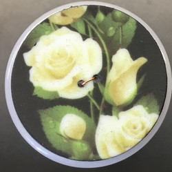 BOUTONS 4CM ROSE